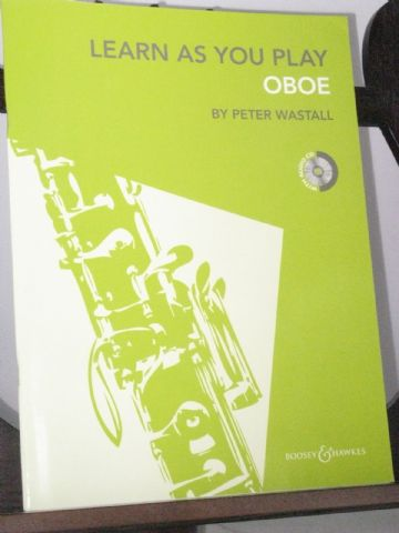 Wastall P - Learn as you Play Oboe